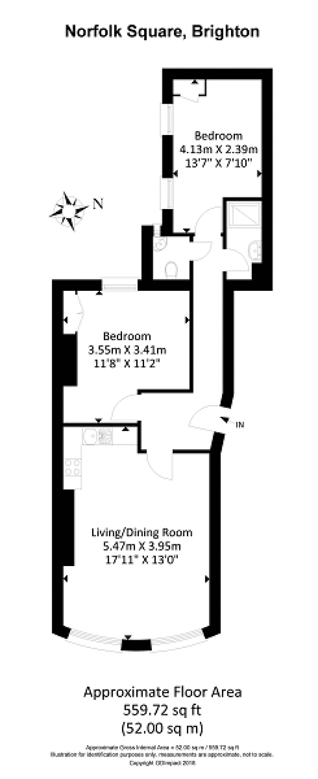 Floorplans For Norfolk Square, Brighton, BN1